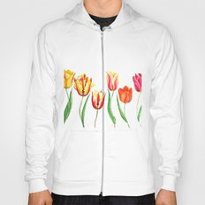 colorful tulips Hoody