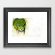 Python Art Framed Art Print