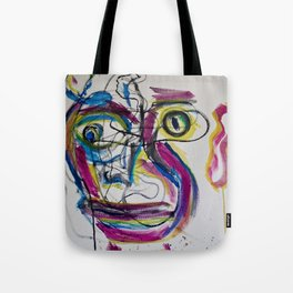 Portrait 8 Tote Bag