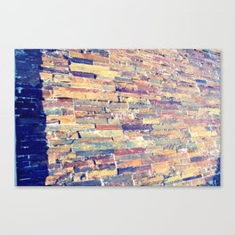 Waterfall Wall Version 1 Canvas Print