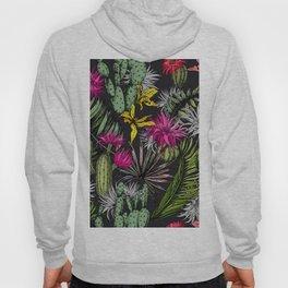 Colorful cactus flowers Hoody