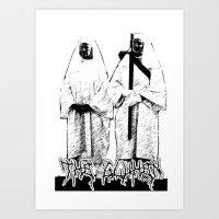 The Glühen - Nuns Art Print