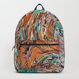 Abstract Painting X 9 Backpack