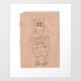 Z || SquareEyes Art Print
