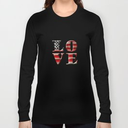 Love American Style Long Sleeve T-shirt