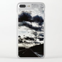 the future Clear iPhone Case