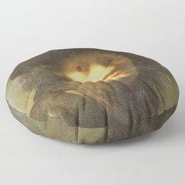 Rembrandt - Self-portrait with a Gorget and Beret (MOA) Floor Pillow
