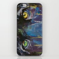 panther iPhone & iPod Skins featuring Panther by Michael Creese