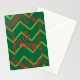 Be Merry Stationery Cards