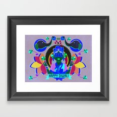 Goddess Lakshmi from India Framed Art Print