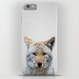 Coyote - Colorful iPhone Case