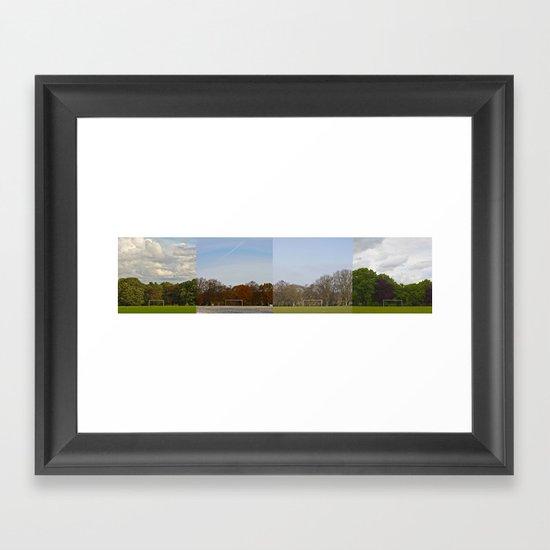 Goal in a year Framed Art Print