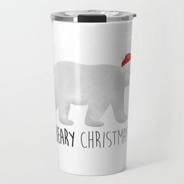 Beary Christmas | Polar Bear Travel Mug