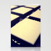 drum Stationery Cards featuring Drum Machine by Derek Fleener