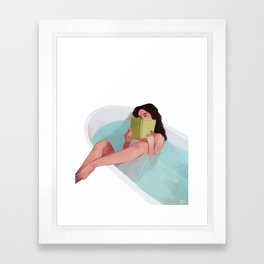 Bathtub Framed Art Print