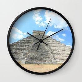 Mayan Pyramid Wall Clock