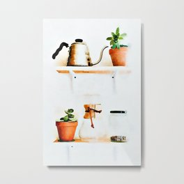 Plant Wall || #society6artprint #buyart Metal Print