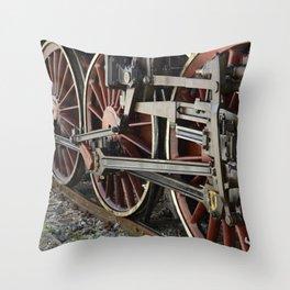 Iron Horse / Pistola, Italy Throw Pillow