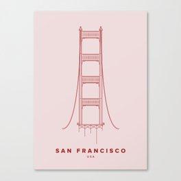 San Francisco City Collection Canvas Print