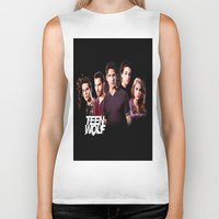 teen wolf Biker Tanks featuring teen wolf by kikabarros