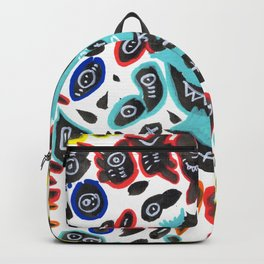 Sweet Little Monsters Pattern for Kids Backpack