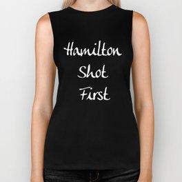Hamilton Shot First Biker Tank