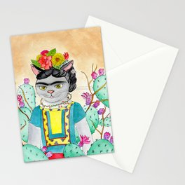 Kitty Kahlo Stationery Cards