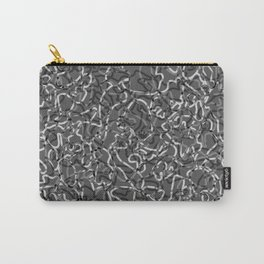 Chaotic steel tangled ropes and dark lines. Carry-All Pouch
