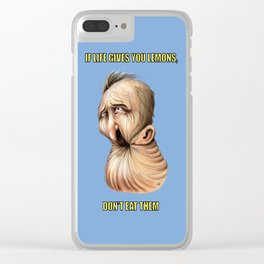 If life gives you lemons... Clear iPhone Case