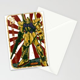 Hyaku Shiki Gundam Retro Stationery Cards
