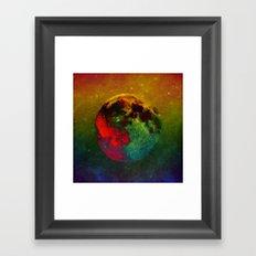 Splendor Of The Moon Framed Art Print