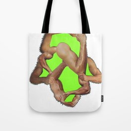 fist pump Tote Bag