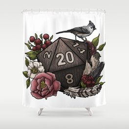 Druid Class D20 - Tabletop Gaming Dice Shower Curtain