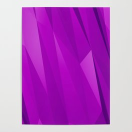 Geo Purple Poster