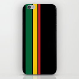 Get Up Stand Up / Rasta Vibrations iPhone Skin