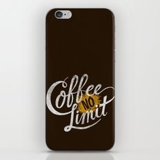 Astronaut Diet, Unlimited Coffee iPhone & iPod Skin