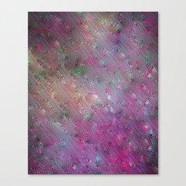 Vortex Footprints Canvas Print