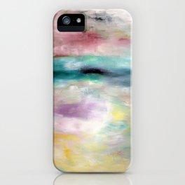 White Ocean iPhone Case