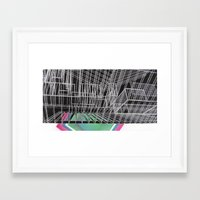 frames Framed Art Prints featuring Frames by Aili Schmeltz