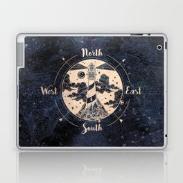 Compass World Star Map Laptop & iPad Skin