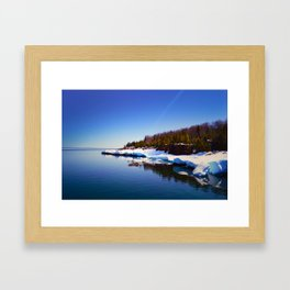 Presque Isle Framed Art Print
