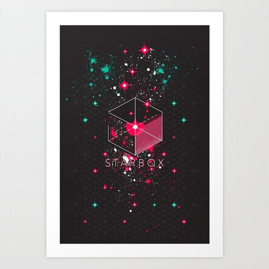 STARBOX Art Print