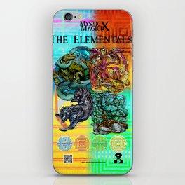Mysticx & Magick: The Japanese Elemental Gods - Art Cover iPhone Skin
