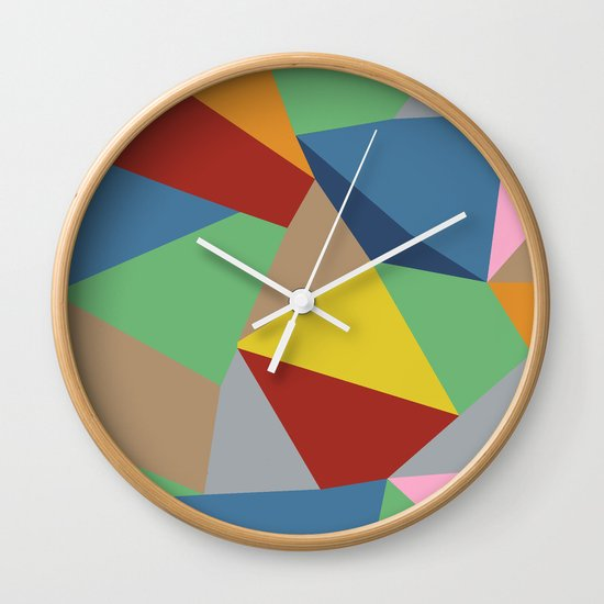 Abstraction Wall Clock