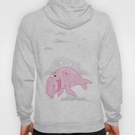 Elephant Seal In The Sky Hoody