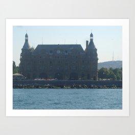 Haydarpasa Port Art Print