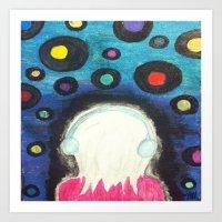 Music On The Mind Art Print