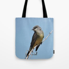 A Cassin's Kingbird Scopes the Skies for Flies Tote Bag