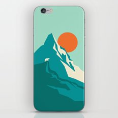As the sun rises over the peak iPhone & iPod Skin