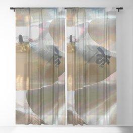 Cymbals Sheer Curtain